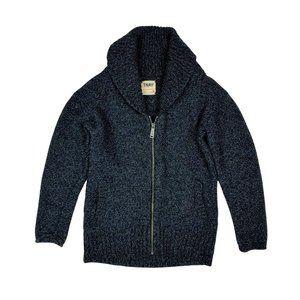 TNA Wool Zip Up Sweater
